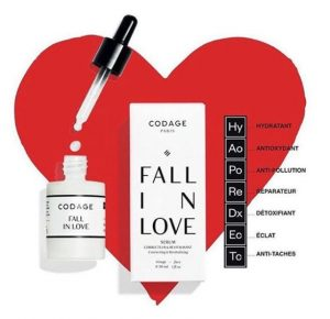 sérum fall in love codage